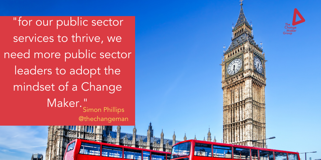 The Change Maker – leading our public sector services
