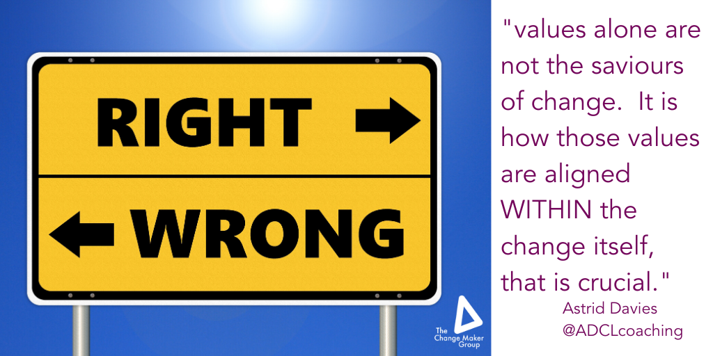 How do you value Values?