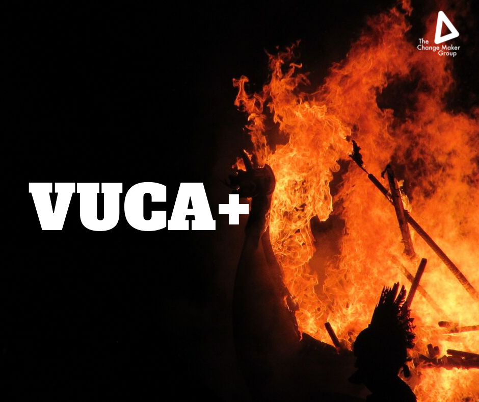 """VUCA+ : new shorthand for """"it's incredibly tough out there"""""""