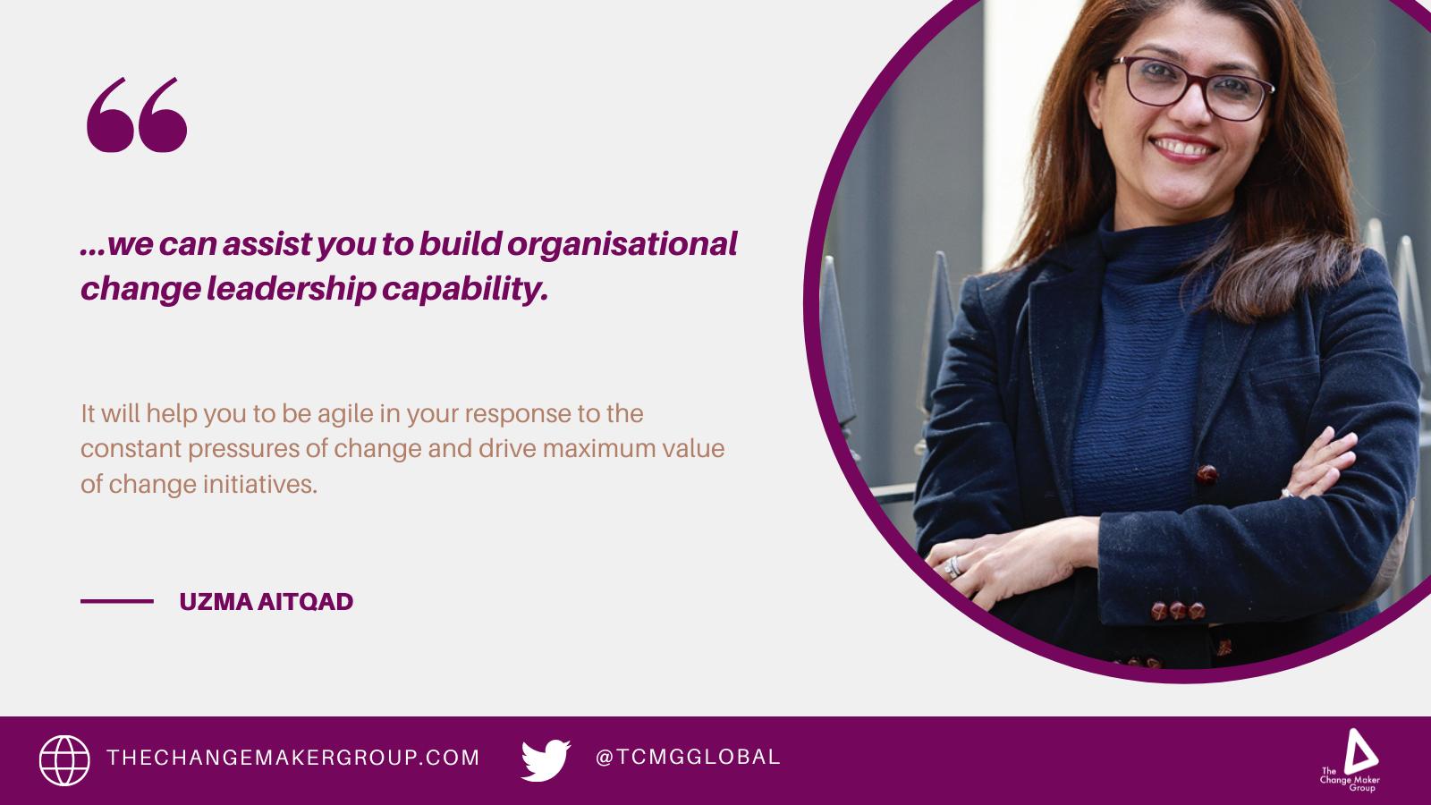 Building organisational change capability